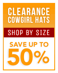 Clearance Cowgirl Hats