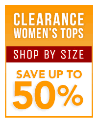 Women's Clearance Tops