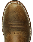Men's Exotic Round Toe Cowboy Boots