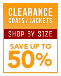 Clearance Coats & Jackets
