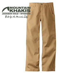 Men's Mountain Khakis Hunting Apparel
