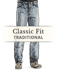 Men's Regular / Classic Jeans