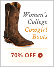 Women's College Cowgirl Boots