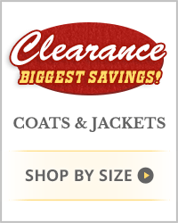 Clearance Coats & Jackets