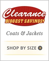 Women's Clearance Coats & Jackets