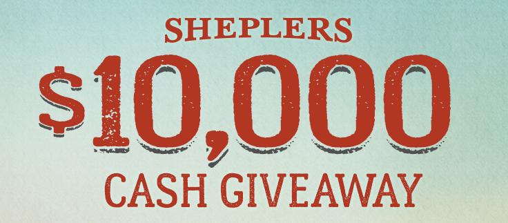 Sheplers Cash Giveaway