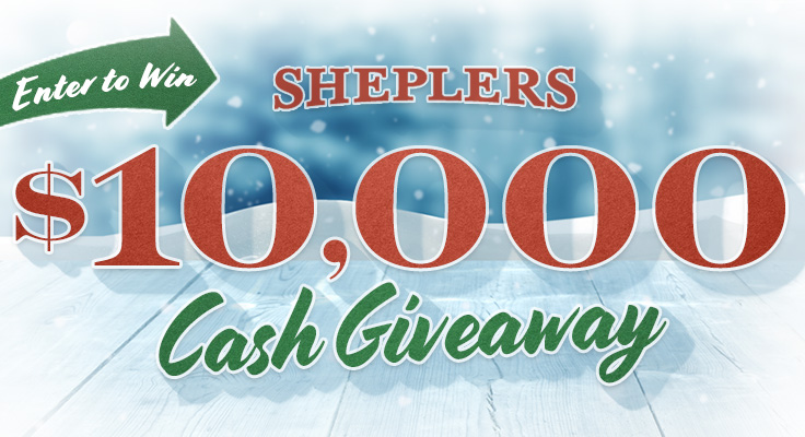 sheplers 10 000 cash giveaway