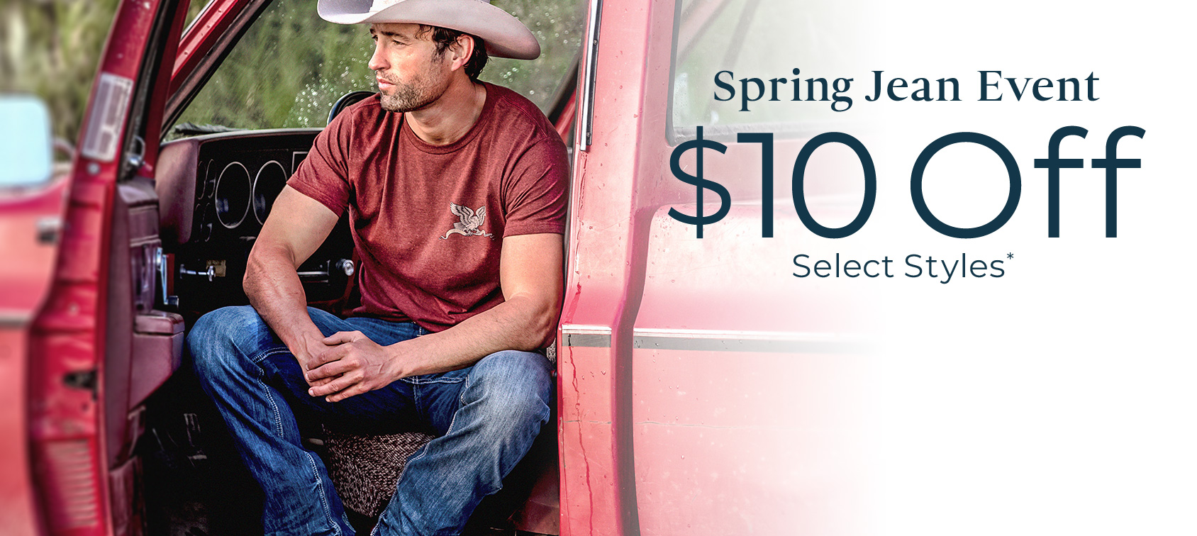 $10 Off Select Jean Styles