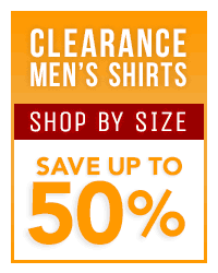 Men's Clearance Shirts