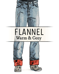 Flannel Lined