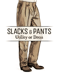 Slacks & Pants